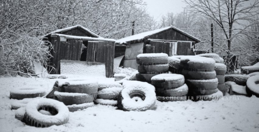 "Tires on Ice 1- ""Glazed Donuts"" - HI-RES - Version 4"